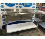 New Single and Double Bowl Sinks